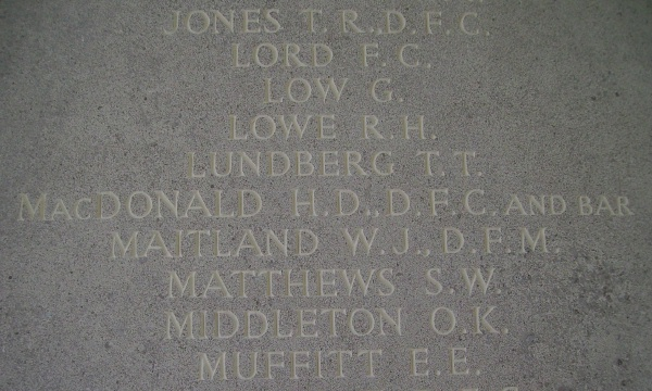 Runnymede Memorial – Inscription - September 2010 … photo courtesy of Marg Liessens