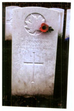 Grave Marker – Courtrai (St Jean) Communal Cemetery Belgium