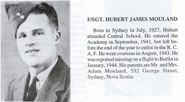 Photo of Hubert James Mouland