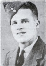 Photo of Hubert James Mouland – From the Sydney Academy Memorial booklet, published by the Student's Assembly in memory of former students who served during the Second World War.  The original pictures were supplied by the Sydney Post-Record and the booklet was compiled by Jack Wilcox, class of 1946 and Donald Trivett, class of 1947. Additional Information courtesy of Floyd Williston: F/Sgt. Hubert James Mouland, age 19, was killed on January 3, 1944, when his 408 (Moose) Squadron Lancaster-LL631, was shot down near Berlin. While four of the Canadians in his crew bailed out and became POWs, the bodies of Sgt. Mouland, and his skipper, F/S Donald Hilker, of Red Willow, Alberta, were never recovered. Their names are inscribed on the Runnymede War Memorial, Surrey, England.