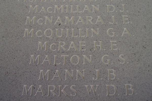 Memorial – Inscription - Runnymede Memorial - September 2010 … photo courtesy of Marg Liessens