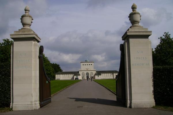 Entrance to Memorial – Entrance - Runnymede Memorial - September 2010 … photo courtesy of Marg Liessens