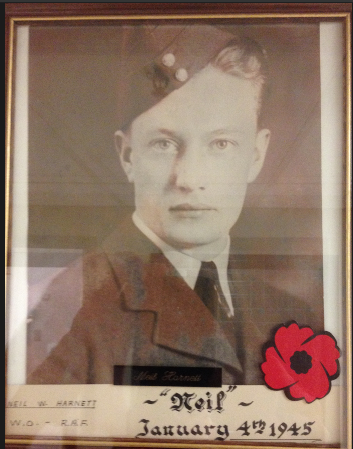 Photo of NEIL WILLOUGHBY HARNETT – In memory of the men and women from Newfoundland who went away to war and did not come home. Submitted for the project, Operation Picture Me