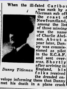 Newspaper clipping – Submitted for the project, Operation: Picture Me