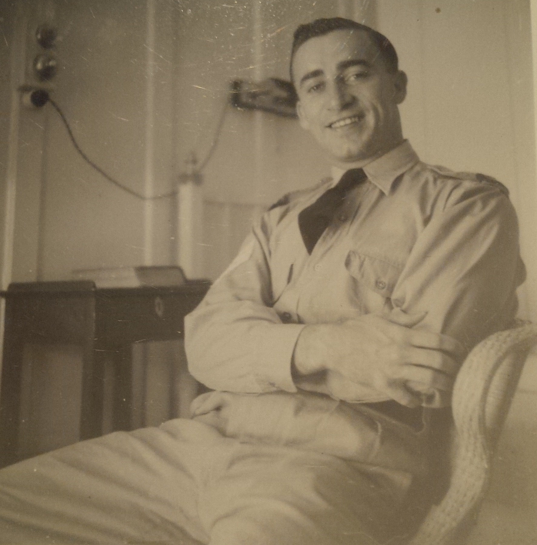 Photo of JAMES LENOURY WRIGHT – Taken during James's time in the middle east, circa 1942-43