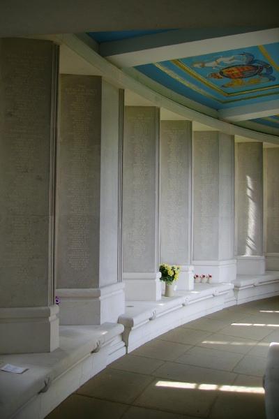 Memorial – Panels - Runnymede Memorial - September 2010 … photo courtesy of Marg Liessens