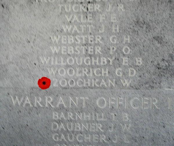 Memorial – Inscription - Runnymede Memorial - April 2017 … photo courtesy of Marg Liessens