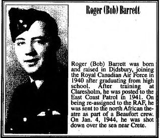 Photo of ROGER JOHN BARRETT – Submitted for the project, Operation: Picture Me