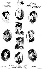 Cantin Family – Top to Bottom Row 1 Noel, Wilfred, Clement, Row 2 Marie, Maurice, Nivon, Amadee Row 3 Lionel, Joseph, Albert  