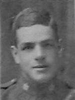 """Photo of HERMAN AITKEN – Cpl Herman A Aitken of the 18th Btn CEF, from """"The Echo"""" December 1919"""