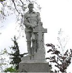 Milton Ontario War Memorial – Names listed on the Milton Ontario War Memorial.