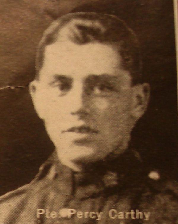 Photo of Percy Carthy