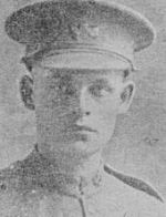 Photo of Campbell Clark – From:  The Lost Generation website at:  www.ww1cemeteries.com