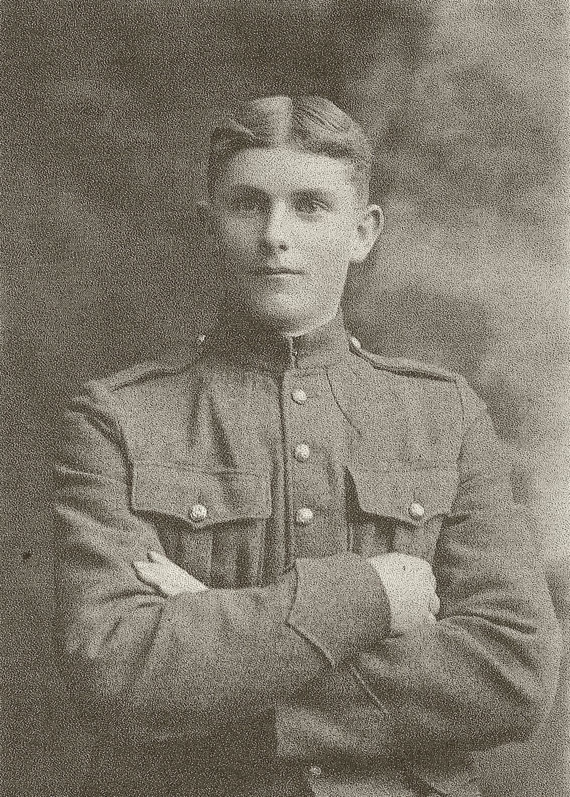 Photo of Robert Foster – Brother of William Earl Foster who was killed on August 8, 1918 and brother of Wilmer Alexander Foster who was killed in WWII on June 11, 1944.