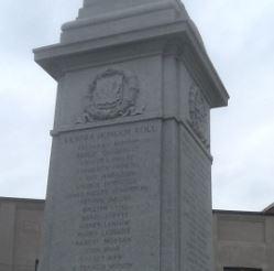 Memorial – Vespra Cenotaph, Barrie, Ontario