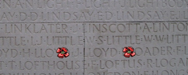 Inscription – Vimy Memorial - August 2012 … Photo courtesy of Marg Liessens
