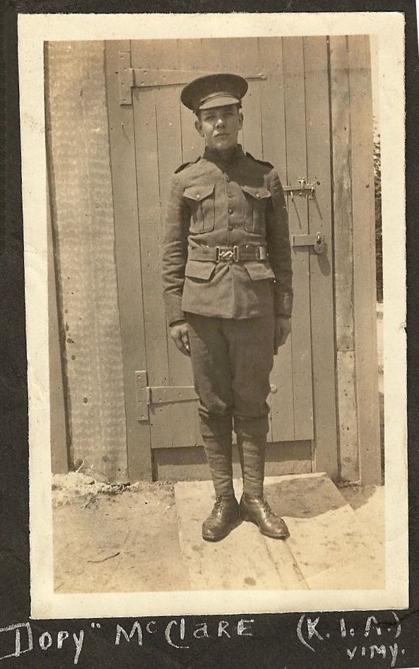 Photo of Percy McClare – Submitted for the project, Operation Picture Me