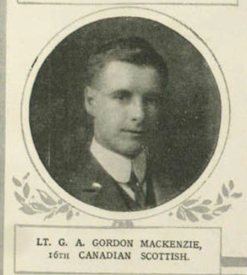 Photo of GORDON ALEXANDER GORDON MACKENZIE – Submitted for the project, Operation: Picture Me