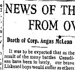 Newspaper Clipping – From the New Liskeard (Temiskaming) Speaker for 24 May 1917.