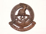Cap Badge – Cap Badge  15th Bn (48th Highlanders of Canada).    Submitted by Captain (retired) Victor Goldman, 15th Bn Memorial Project.  DILEAS GU BRATH