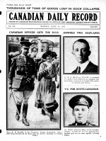 Canadian Daily Record – Private William Johnstone Milne