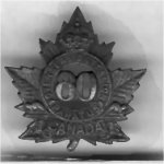 Photo of Medal – Private Guy Provins, enlisted Barriefield (Kingston,Ontario), 80th Battalion, 5 Oct. 1915. Sailed May 16, 1916, England 74 Battalion. 54th Battalion France, 14 Aug. 1916 to 15 Oct. 1916. Killed in Action, Guy's 20th Birthday.