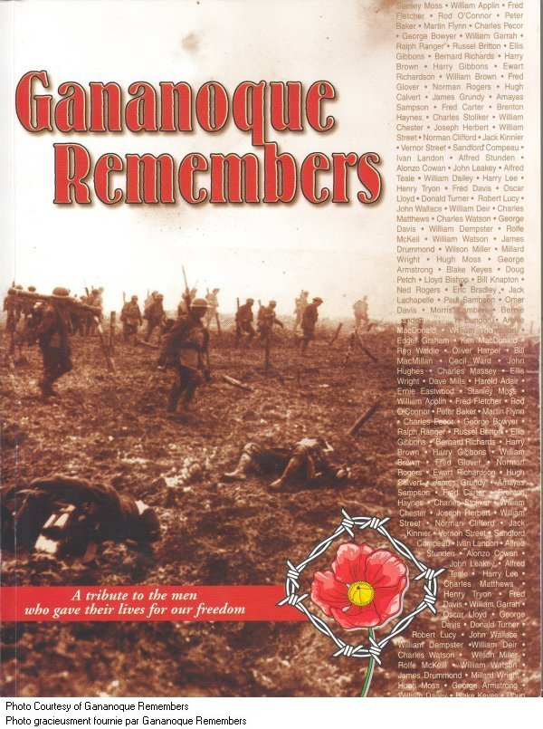 Gananoque Remembers