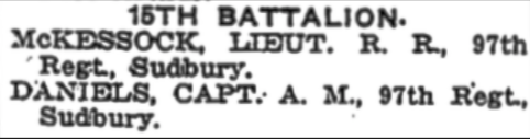 Newspaper Clipping – In memory of the members of the 15th, 92nd and 134th Battalions (48th Highlanders) who went to war and did not return. Remembered by the 48th Highlanders Museum 73 Simcoe St. Toronto, Submitted for the project, Operation: Picture Me.