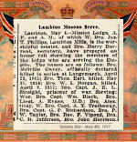 Newspaper Clipping – Pte. John Melville Davey was named on the Roll of Honour for Mimico Lodge (Masonic), Lambton Mills, Ontario.  Davey was born in Peterborough, Ontario.  He enlisted in September 1914 at Valcartier, Quebec, in the first Canadian Contingent.  In honoured memory.