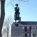 Memorial – Corporal William Henry Gibbins' name appears on the Gananoque Ontario War Memorial.