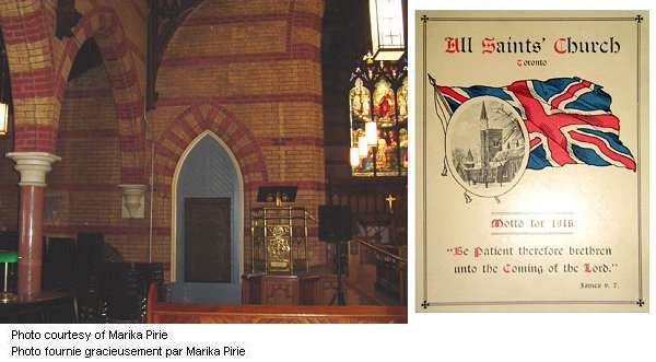 All Saints' Church's  Montage