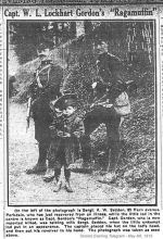 Newspaper Clipping – Photograph from the front.