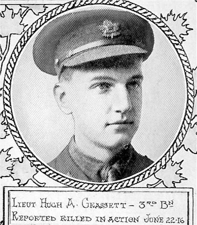 Photo of Hugh MacKay Grasett