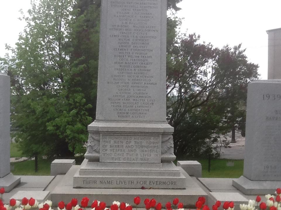 Cenotaph – Barrie Cenotaph