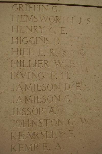 Inscription on Menin Gate Memorial – Photo courtesy of Marg Liessens
