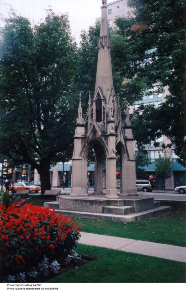 War Memorial on the gounds of St. James Cathedral