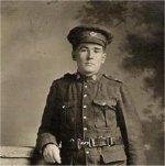 Photo of William Robert Lockard – My grand father in uniform