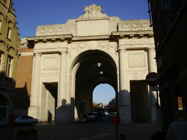 Memorial – Menin Gate … photo courtesy of Marg Liessens
