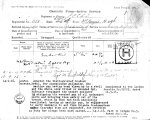 Service Records (front) – Casualty Form - Active Service