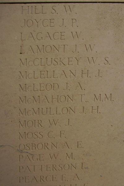 Inscription – Inscription on the Menin Gate, photo courtesy of Marg Liessens.