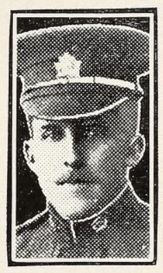 Photo of EDWIN HAROLD MULLOY – Photo from the National Memorial Album of Canadian Heroes c.1919. Submitted for the project, Operation: Picture Me.