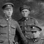 Group Photo – Lcpl George Stephen Murdoch (on left) and comrades,