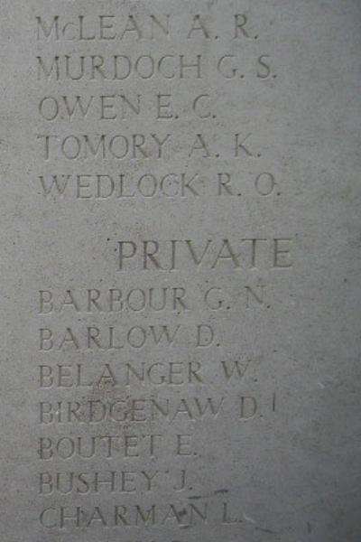 Memorial – Inscription on the Menin Gate … photo courtesy of Marg Liessens