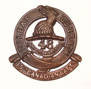 Cap Badge of the 15th