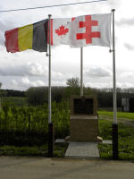 Memorial – The memorial on Observatory Ridge was unveiled and dedicated on 22 October 2011 to commemorate the actions of the 15th Battalion CEF (48th Highlanders of Canada) on 3 June 1916 during the Battle of Mount Sorrel.  Photo by BGen (ret) G Young and submitted by Capt (ret) V Goldman of the 15th Bn Memorial Project.