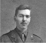 Photo of Gerald Peters – Lieut. Gerald Peters photo taken in 1915 or 1916