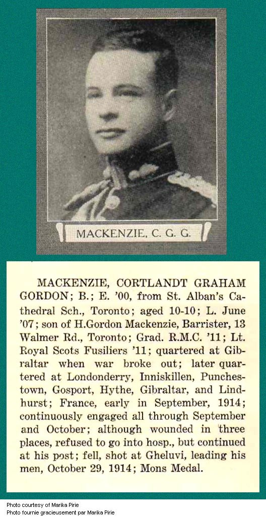 Photo of Cortlandt Graham Gordon Mackenzie