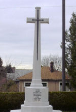 Memorial Cross – Memoral coss in the Mountian View cemetery in Vancouver BC Canada