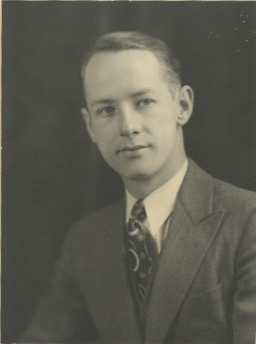 Photo of Clarence Alfred Turff – Clarence Alfred Turff.  Photograph from my Aunt's Possessions.