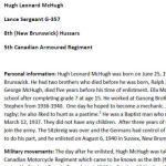 """Biography – Belleisle Regional High School (2013) - """"Lest We Forget""""  In 2013, the grade 11 Modern History students at Belleisle Regional High School continued to write biographies for soldiers from the local area who died during the First and Second World Wars."""
